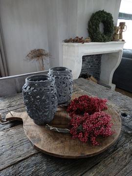 Afbeeldingen van Pepperberries voor decoratie (rood)