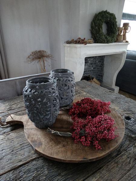Afbeelding van Pepperberries voor decoratie (rood)