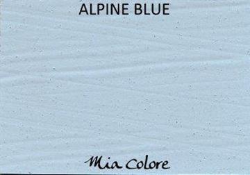 Afbeeldingen van Mia Colore kalkverf Alpine Blue