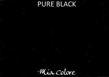 Afbeeldingen van Mia Colore kalkverf Pure Black