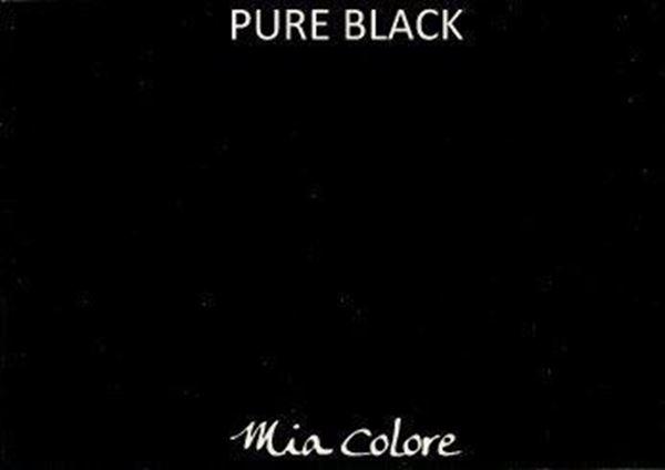 Afbeelding van Mia Colore kalkverf Pure Black