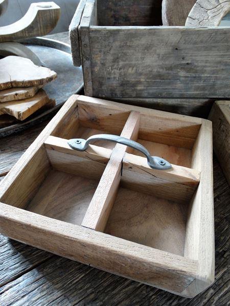 Afbeelding van Mango wood tray nr. 2