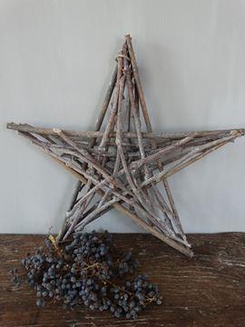 Afbeeldingen van Decoratie ster 'groot'