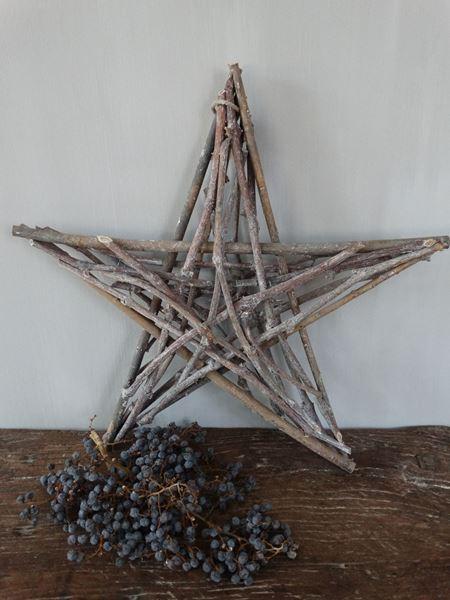 Afbeelding van Decoratie ster 'groot'