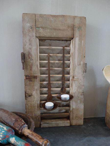 Afbeelding van Oude ijzeren lepel