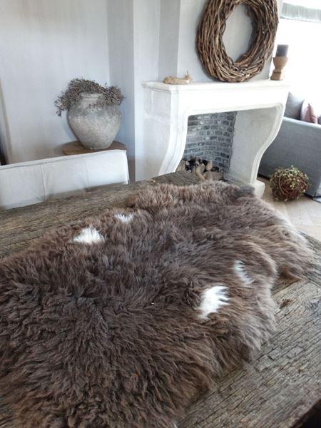 Afbeelding van Bruin schapenvacht nr. 1