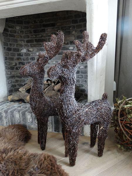 Afbeelding van Rendieren als decoratie
