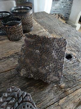 Afbeeldingen van Oude unieke houten stempel