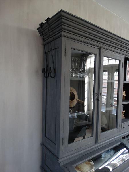 Afbeelding van Hangkandelaar, kastkandelaar, luikkandelaar