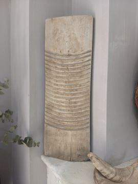 Afbeeldingen van Oud houten wasbordje nr. 1
