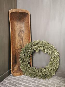 Afbeeldingen van Gedroogde olijfkrans 50 cm