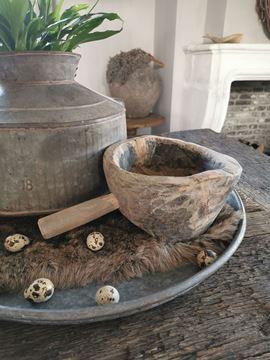 Afbeeldingen van Stoer & Stijlvol houten pot met handvat nr. 1