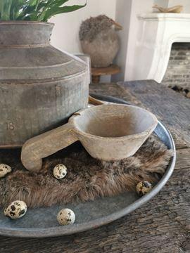 Afbeeldingen van Stoer & Stijlvol houten pot met handvat nr. 2