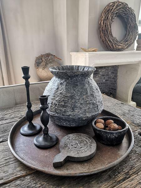 Afbeelding van Stoer & Stijlvol rattan clay pot