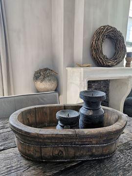 Afbeeldingen van Stoer & Stijlvol ovale olijfbak