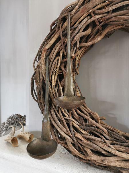 Afbeelding van Stoere metalen hanglepel