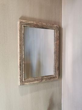 Afbeeldingen van Stoer & Stijlvol vintage grey spiegel