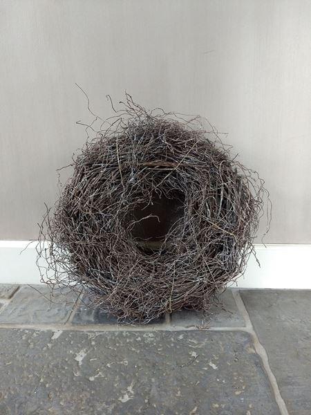 Afbeelding van Wortel krans bruin ww 40 cm