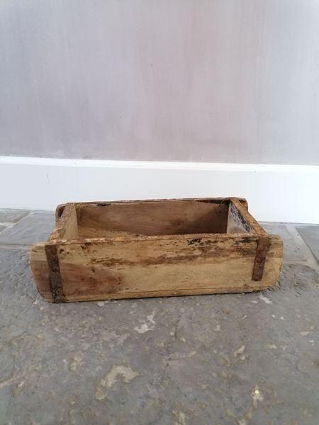 Afbeelding van Oud houten steenmal één vak nr 3