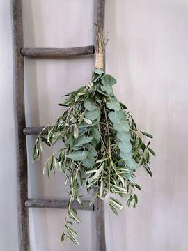Afbeeldingen van Stoer & Stijlvol olijftoef decoratie groen