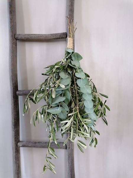 Afbeelding van Stoer & Stijlvol olijftoef decoratie groen