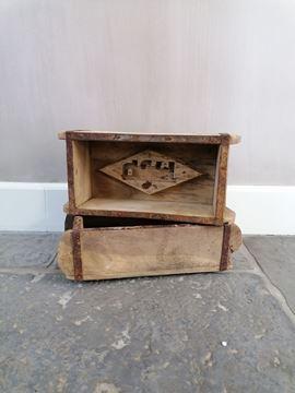 Afbeeldingen van Oud houten steenmal één vak nr 1
