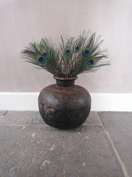 Afbeeldingen van Stoer & Stijlvol zware metalen waterpot kruikpot