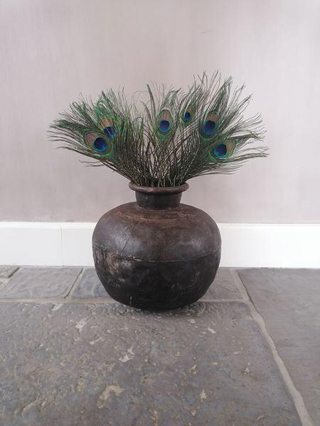 Afbeelding van Stoer & Stijlvol zware metalen waterpot kruikpot