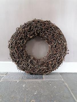 Afbeeldingen van Stoer & Stijlvol bonsai krans 60 cm