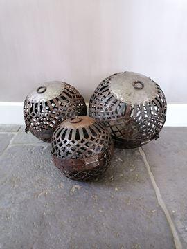 Afbeeldingen van Stoer & Stijlvol metalen ballen set