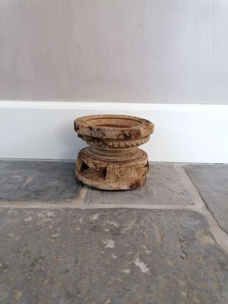 Afbeelding van Oud houten zaai kandelaar nr. 11