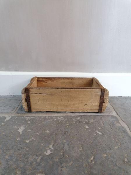 Afbeelding van Oud houten steenmal één vak nr 4