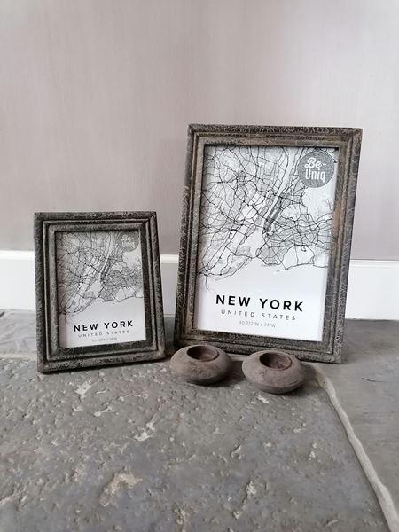 Afbeelding van Fotolijst vintage grey 13 x 18 cm M
