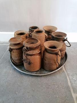 Afbeeldingen van Nepalese kruikpotten M