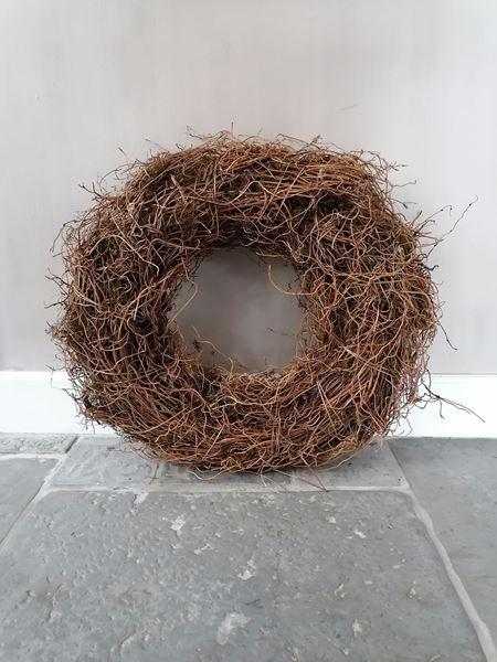 Afbeelding van Wortel krans bruin naturel 50 cm