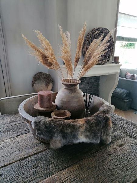 Afbeelding van Compleet samengestelde olijfbak met decoratie