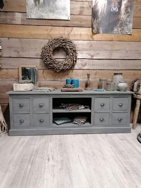 Afbeelding van Stoer & Stijlvol landelijk TV meubel